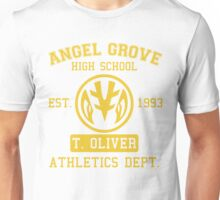Angel Grove H.S. (White Ranger Edition) Unisex T-Shirt