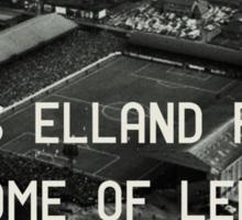 Leeds United Football Club Sticker