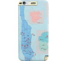 A Comic Book Tour of NYC iPhone Case/Skin
