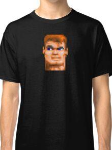 Wolfenstein 3D (Head) - Retro DOS game fan shirt HD pixels Classic T-Shirt