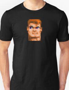 Wolfenstein 3D (Head) - Retro DOS game fan shirt HD pixels T-Shirt