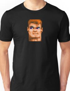 Wolfenstein 3D (Head) - Retro DOS game fan shirt HD pixels Unisex T-Shirt