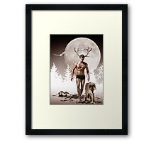 Herne the Hunter Framed Print