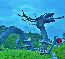 Dragon Statue in Busan, South Korea by Fike2308