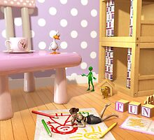 A Child's Playroom - Where The Toys Live by Liam Liberty