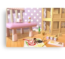 A Child's Playroom - Where The Toys Live Metal Print