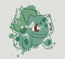 Bulbasaur Splatter by Keelin  Small