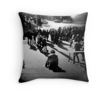 Flinders Street Patience Throw Pillow