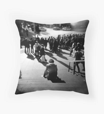 Flinders Street Patience Throw Pillow