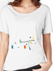 Painting Shirt Women's Relaxed Fit T-Shirt