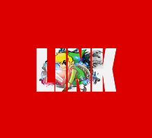 Toon Link Text (Red) by Depixels