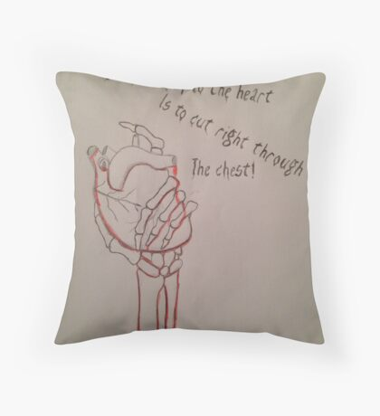 Lost hearts Throw Pillow