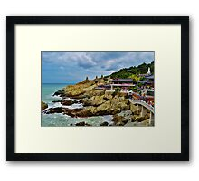 Dragon Temple 2013 Framed Print