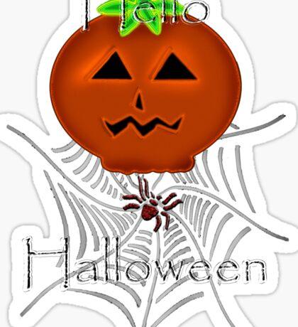 Hallo Halloween Sticker