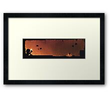 Temple of the Chozo Framed Print