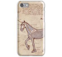 Anatomy of the Unicorn iPhone Case/Skin