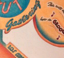 1st Annual Wall-Nut gathering Sticker