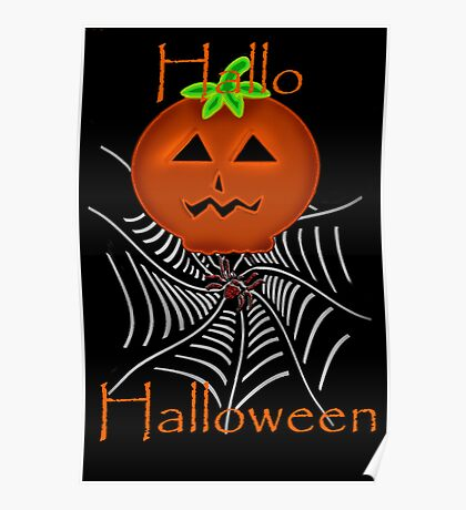 Hallo Halloween Poster