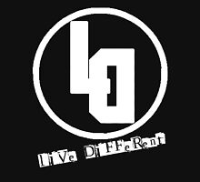 Live Different White Style  Unisex T-Shirt