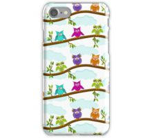 happy owls  iPhone Case/Skin