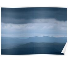 Blue Blue Mountains Poster