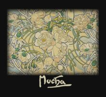 Mucha - Flowers by William Martin