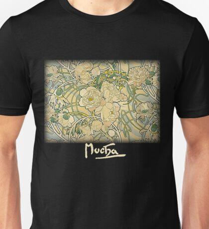 Mucha - Flowers Unisex T-Shirt
