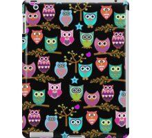 funky owls  iPad Case/Skin