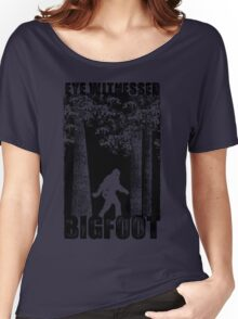 Eye Witnessed Bigfoot Women's Relaxed Fit T-Shirt