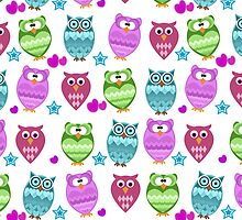 funny owls  by Ancello