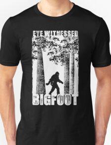 Eye Witnessed Bigfoot Unisex T-Shirt