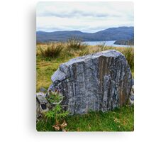 Harris Rock Canvas Print