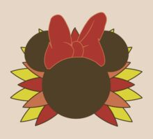 Minnie Mouse Thanksgiving Turkey by sweetsisters