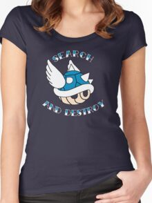 Search and Destroy Women's Fitted Scoop T-Shirt