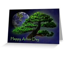 Happy Arbor Day Greeting Card
