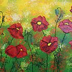 Red Poppies Aglow by Wendy Sinclair