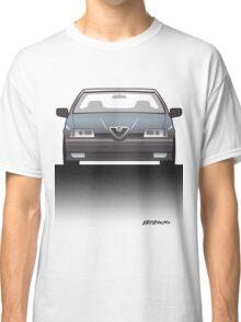 Modern Euro Icons Series Alfa Romeo 164 Quadrifoglio Q4 (Split) Classic T-Shirt