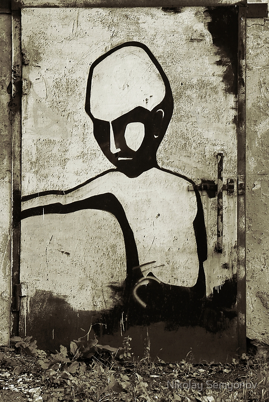 doorman by Nikolay Semyonov