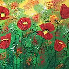 Red Poppy Bonanza by Wendy Sinclair