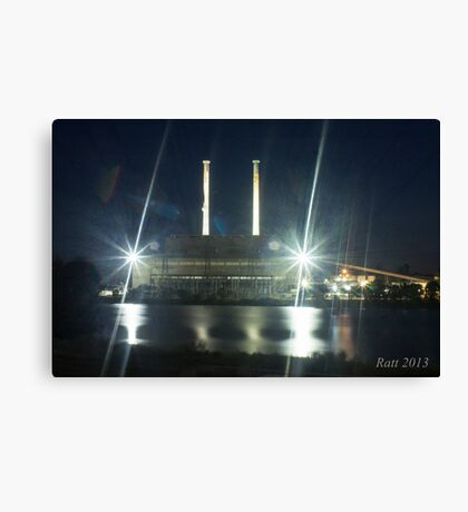 Give us power Canvas Print