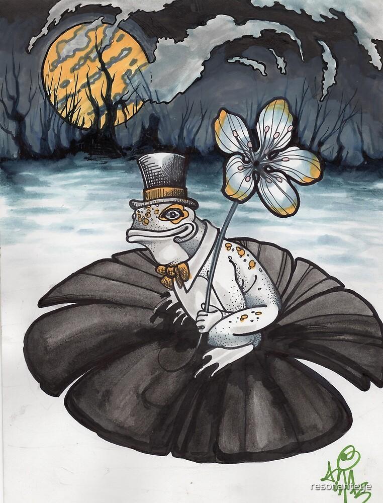 froggy gone a courtin' by resonanteye