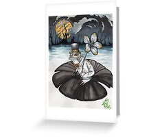 froggy gone a courtin' Greeting Card