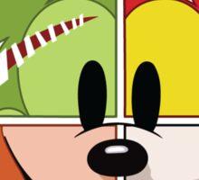 Mickey's Costumes Sticker