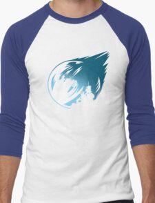 Meteor Over Midgar Men's Baseball ¾ T-Shirt