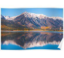 Fall at Twin Lakes Poster