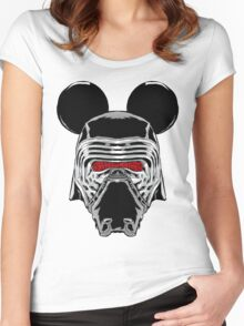 Kylo Mouse Women's Fitted Scoop T-Shirt