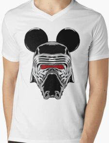 Kylo Mouse Mens V-Neck T-Shirt