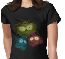 The Three Splotches Womens Fitted T-Shirt