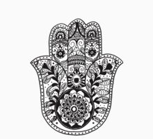 The Hamsa Hand by Carolyn Huane