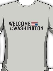 "House of Cards - ""Welcome to Washington"" T-Shirt"